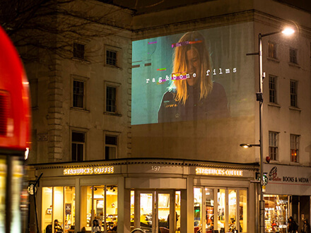 Rag & Bone Guerrilla Projection
