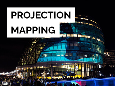 Projection Mapping banner