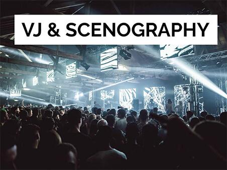 VJ & Scenography banner